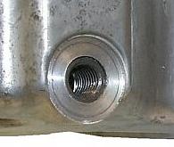 2005 jeep liberty diesel oil drain plug size